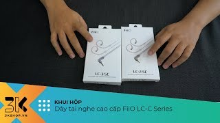 Unboxing FiiO LC C Series   Dòng dây tai nghe cao cấp của FiiO