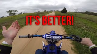 Here's Why I'm Glad I Got a Yamaha YZ125 Instead of a YZ250