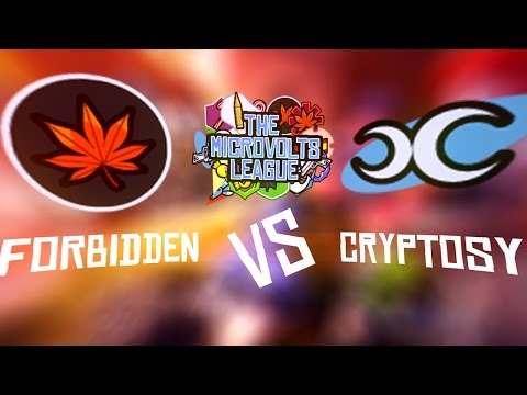 The Microvolts League [S1W4] - Cryptosy Vs Forbidden (Game 2) [twitch.tv/oozownsu]