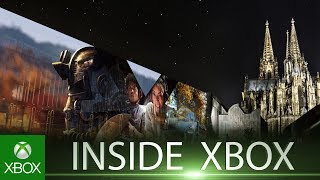 Inside Xbox is live from gamescom