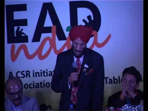 Flying Sikh MILKHA SINGH inspirational speech