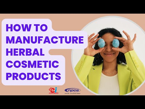 How to Manufacture Herbal Cosmetic Products (Cream, Face Pack, Tooth Powder, Tooth Paste etc.)