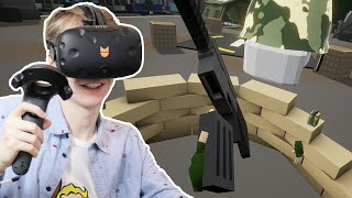 VR CO-OP MULTIPLAYER! | Out of Ammo #9 (HTC Vive Gameplay)