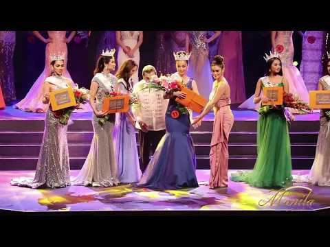 Miss Manila 2017 Coronation Night: Announcement of Final Winners
