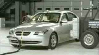 Crash Test 2008 - 2010 BMW 5 Series MFG after May 2007 (Side Impact) 8 (Eight) Different Angles