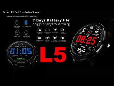 Smart Watch L5 - распаковка от Латухи (лонг вершен :-) )