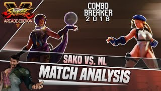 SFV AE Match Analysis: Combo Breaker 2018 - Sako vs. NL