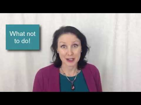 Resilience Webinar greeting by Trish Jenkins for Professional Conference Organisers