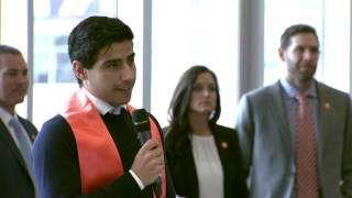 Clemson Men's Soccer || Iman Mafi Graduation ...