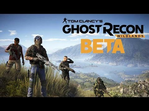 TOM CLANCY'S GHOST RECON WILDLANDS OPEN BETA! (PS4 Pro Gameplay Ao Vivo)