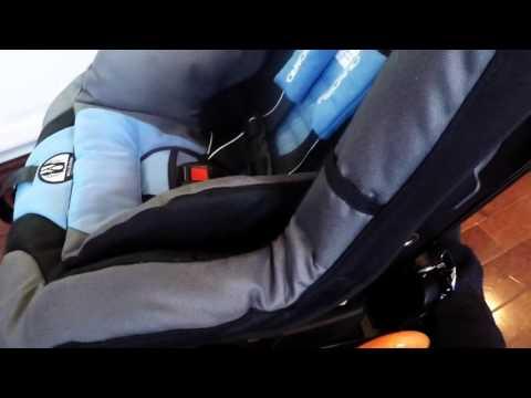 Go Go Babyz Travelmate Deluxe With Recaro Proride Convertible Car Seat