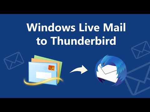 How To Transfer Folders From Windows Live Mail To Thunderbird?