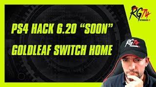 PS4 5.50-6.20 SOON. Goldleaf reemplazando el menú de Switch. Deponia
