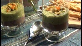 Мусс из черной фасоли с авокадо+ Итальянские палочки гриссини
