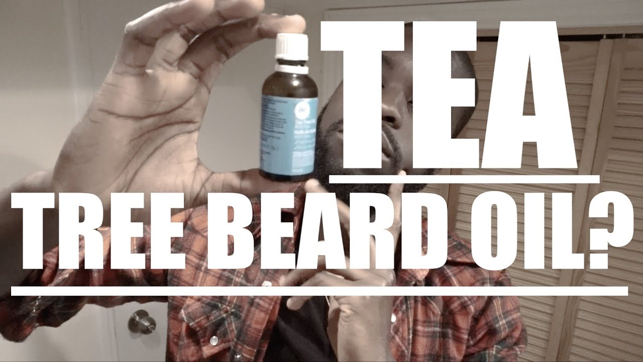 Applying Tea Tree Oil in Beard