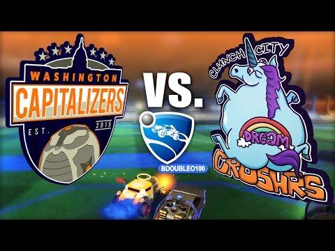 Washington Capitalizers VS. Clunch City Dreamcrushrs - Rocket League