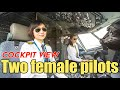 - Two female pilots fly the A320 by ShenZhen Airlines