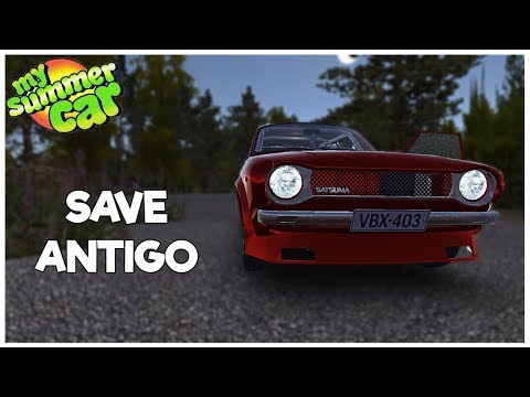 [MY SUMMER CAR] - JOGANDO NO SAVEGAME ANTIGO - #24