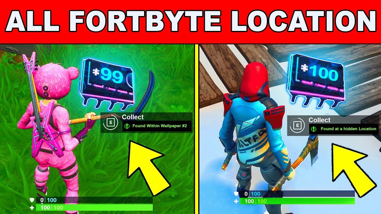 *NEW* Fortbyte All Locations - UNLOCK ALL FORTBYTES ...