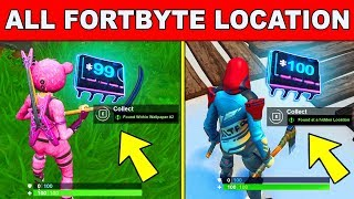 'NEW' Fortbyte All Locations - UNLOCK ALL FORTBYTES Fortnite Saison 9 (Fortbyte Challenges)