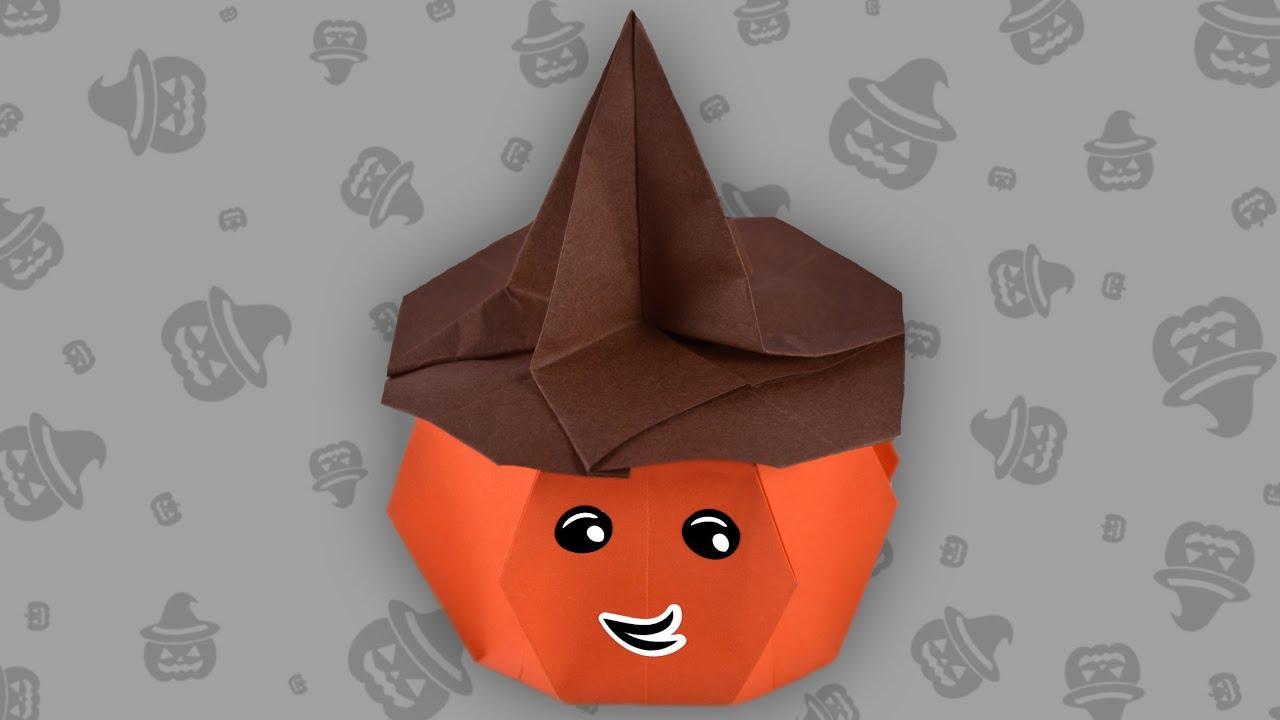 origami halloween pumpkin faltanleitung hd de live erkl rt youtube. Black Bedroom Furniture Sets. Home Design Ideas