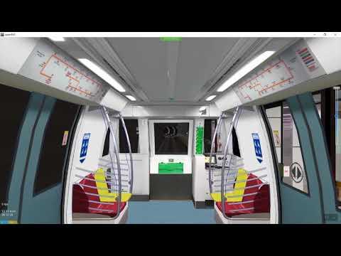 [OpenBVE] Singapore Circle Line MRT with C830C