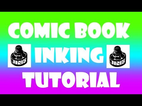 Comicbook Inking Tutorial with Peter Palmiotti & Kenny Keen.
