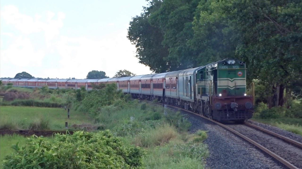Rameswaram Bhubaneswar Express curves beautiful Pasupatikovil