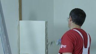Montaż ściany z bloczków gipsowych RIGIROC™