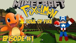 Charmander I Choose You - Minecraft Pixelmon 3.0 Soul of Fire (Adventure Map) - Episode 1