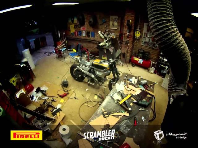 Vibrazioni Pirelli ducati Scrambler