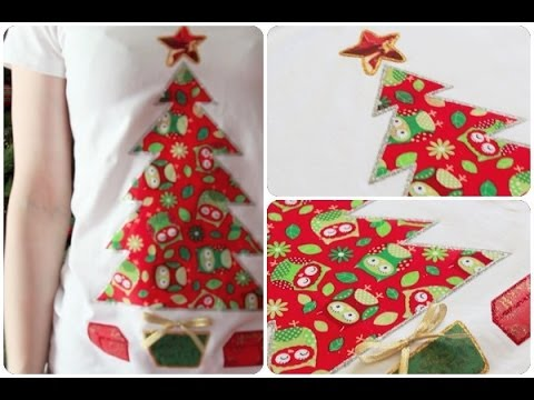 diy holiday t shirts creative christmas 2013 youtube