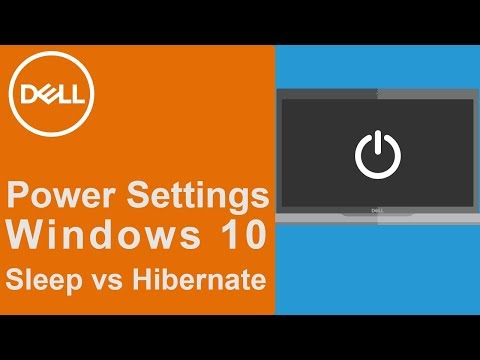 Power and Sleep Settings Windows 10 (Official Dell Tech Support