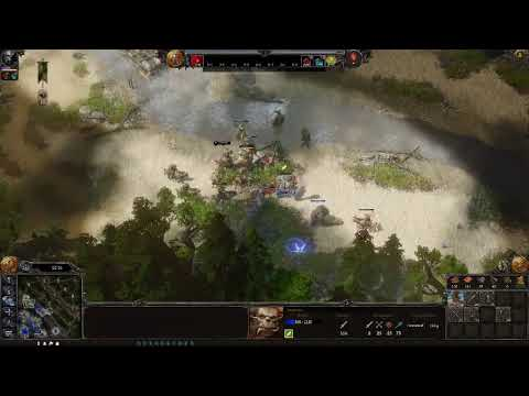SpellFORCE almost 8 hours in the game Vs HARD Ai (RTS BASE BUILDING GAME) |
