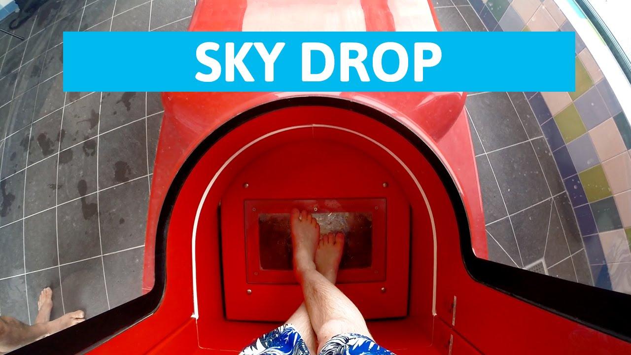 Plopsaqua De Panne Sky Drop Extreme Trapdoor Water