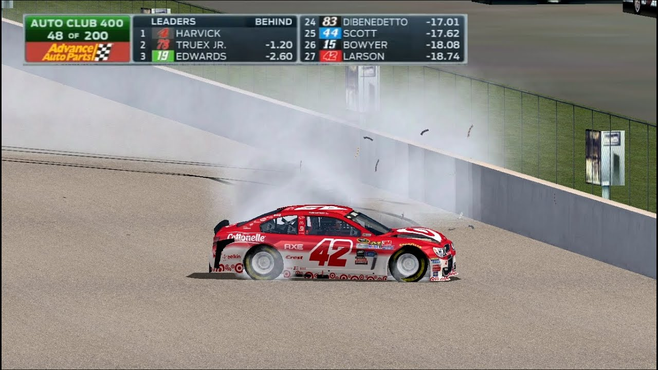 Kyle Larson on last-lap wreck: 'Longest flip I've ever had'