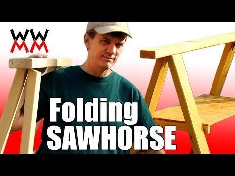 Make a Folding Sawhorse