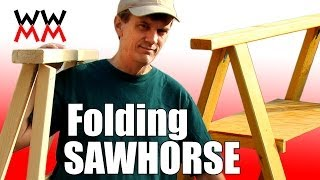 Make a folding sawhorse. Thumbnail