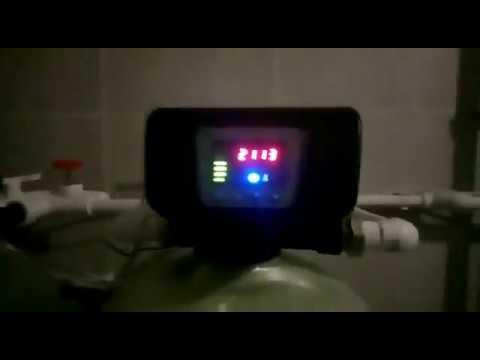 Система очистки воды от железа, сероводорода плюс умягчитель. Аэрация воды
