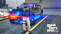 GTA 5 MODS LSPDFR 989  - TAHOE CITY PATROL!!! (GTA 5 REAL LIFE PC MOD)
