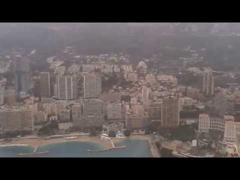 AS350 Heli Air Monaco flight tour Monaco 28/12/2013
