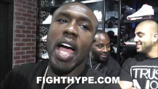 ANDRE BERTO SAYS MAYWEATHER VS. MCGREGOR IS BAD NEWS; EXPLAINS WHY: