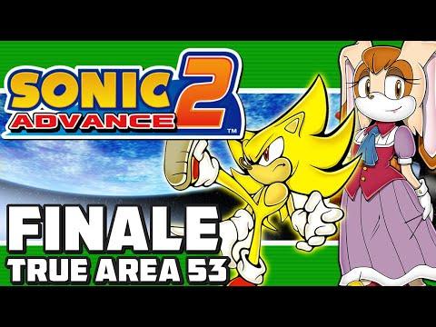 Sonic Advance 2 GBA - FINALE - Part 6: True Area 53 (Super Sonic Ending!)