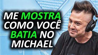 QUASE APANHOU DO PAI DO MICHAEL JACKSON