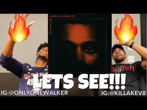 "THE WEEKND ""MY DEAR MELANCHOLY,""REACTION 