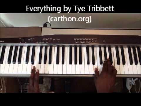 Everything to Me (Tye Tribbett) Order Lafayette Carthon Skype Lessons or Tutorials