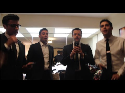 At the White House with the Maccabeats for Chanukah!