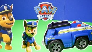PAW PATROL Nickelodeon Paw Patrol On a Roll Chase a Paw Patrol Toy Video