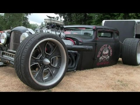 Rat Rods that will blow your mind-street machines,hot rods,Better buy insurance before watch.