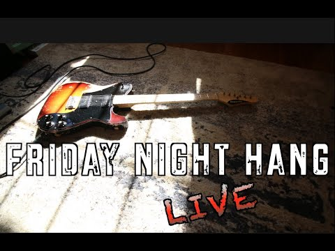 Friday Night Hang LIVE @8pm Eastern